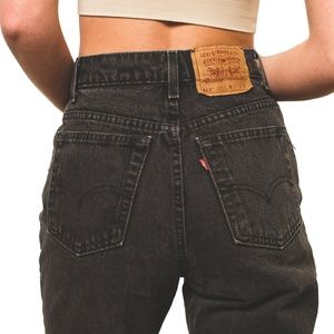 Vintage Levi's 512 High Rise Tapered Leg Jeans